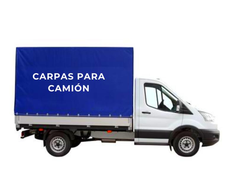 carpas para camión