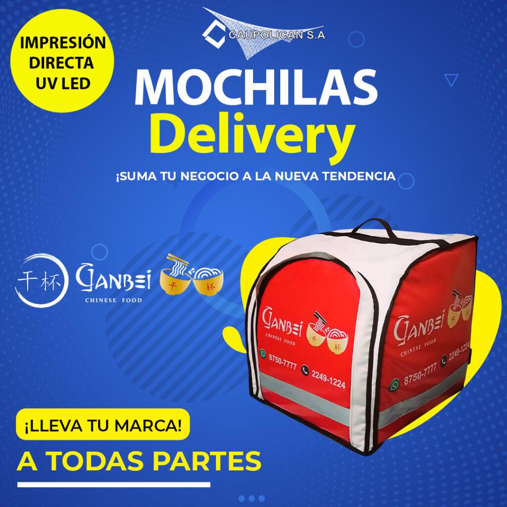 Mochilas para delivery