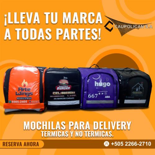 Mochilas Delivery nicaragua