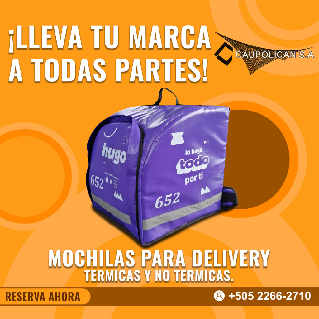 Venta de mochilas estilo hugo Nicaragua