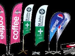 banderas comerciales